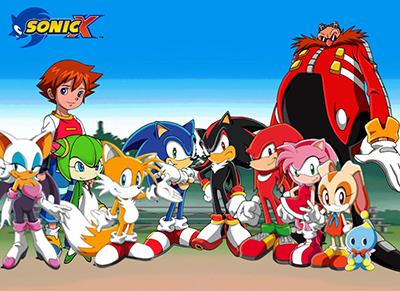 25 best kids anime Sonic X
