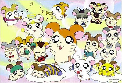 25 best kids anime Tottoko Hamtarou