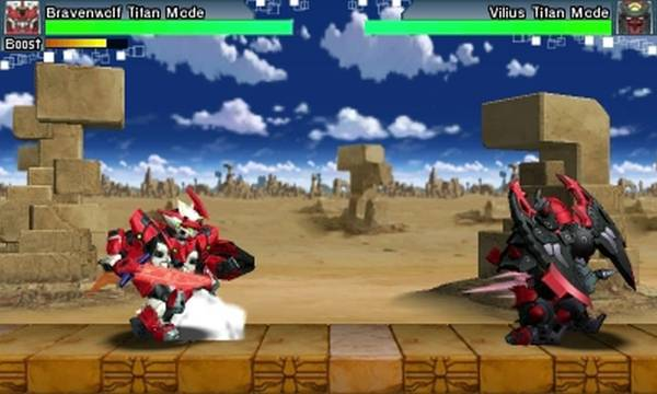 Tenkai Knights, Game, Brave Battle, Bravenwolf, Vilius