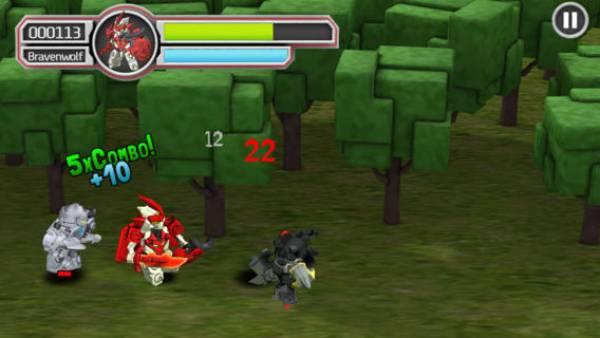 Tenkai Knights, Game, Bravenwolf, Battle for Quartron