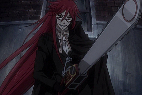 Top 20 Anime Weapons Black Butler Reaper Scythe