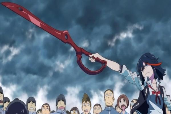 Top 20 Anime Weapons Kill La Kill Scissor Blade
