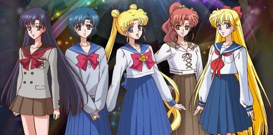 sailor moon crystal school uniform