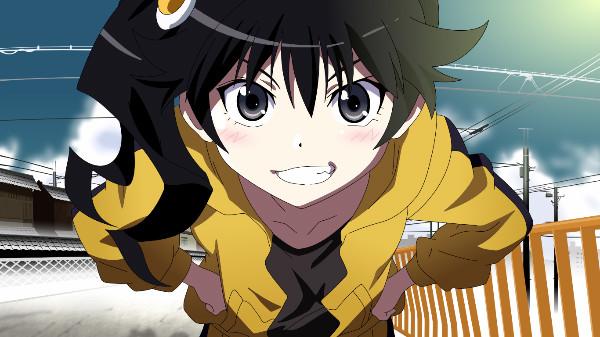 Karen Araragi Nisemonogatari anime lips