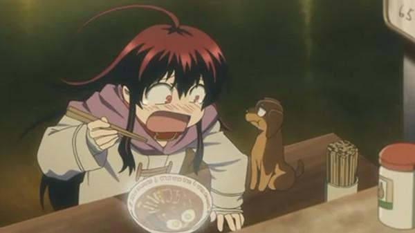 Kuro Kurokami anime lips