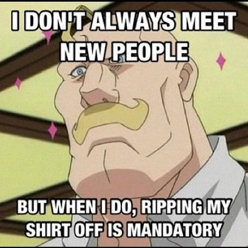 Fullmetal Alchemist meme, General Armstrong