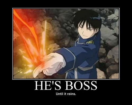 Fullmetal Alchemist meme, Roy Mustang