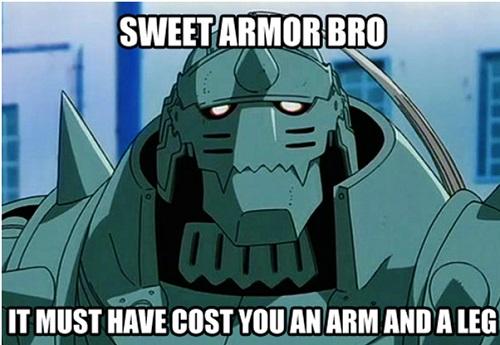 Fullmetal Alchemist meme, Alphonse Elric