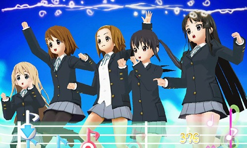 K-On! Houkago Live!! K-On! Game PSP Gameplay