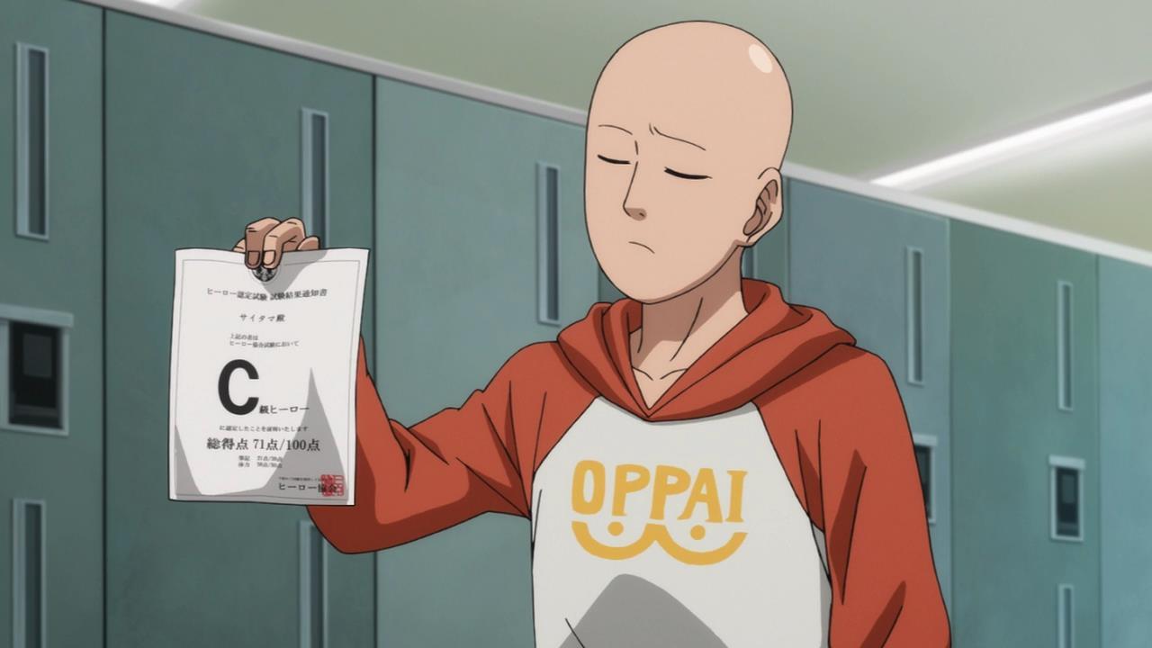 One Punch Man Blast - Oppai