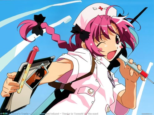 Komugi Nakahara Nurse Witch Komugi-chan Magikarte