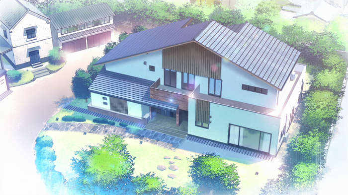 The anime house from Glasslip
