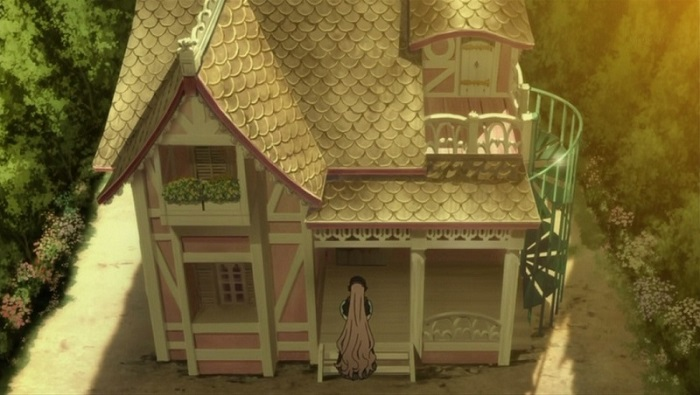 The anime house from Gosick