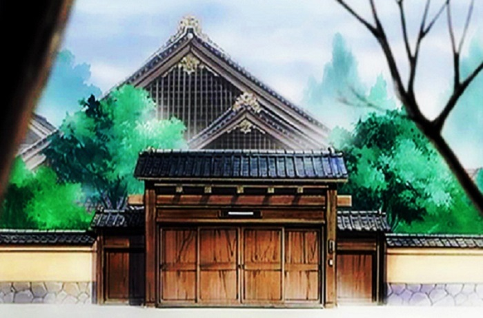 The anime house from Fruits Basket