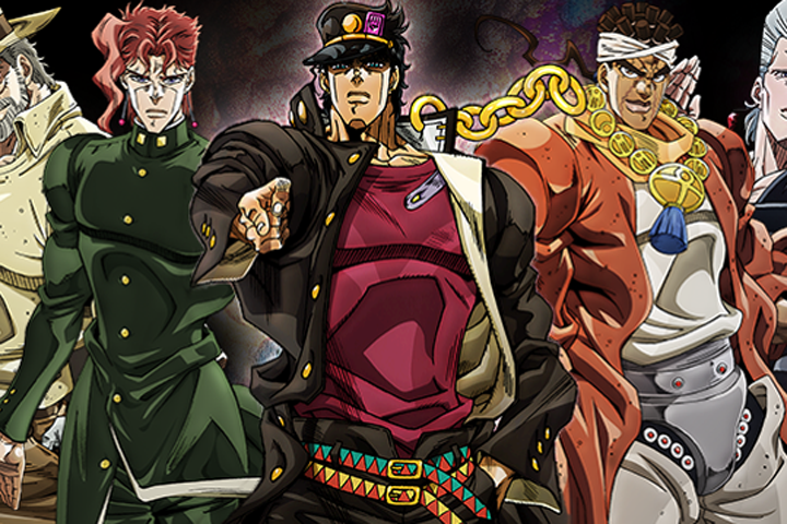 Top Twenty Anime 2015 - Jojo's Bizarre Adventure: Stardust Crusaders 2nd Season