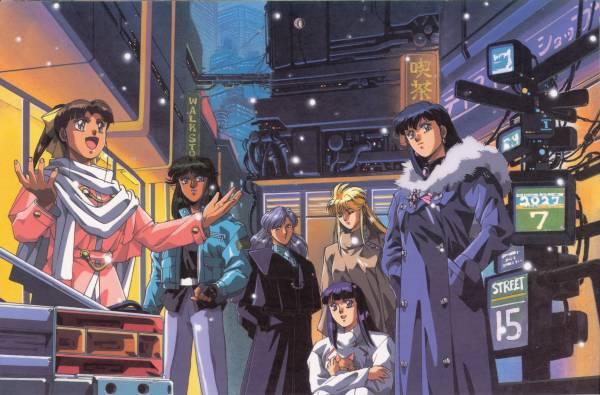 Silent Mobius, Anime, Friendship, Friend, Katsumi Liqueur