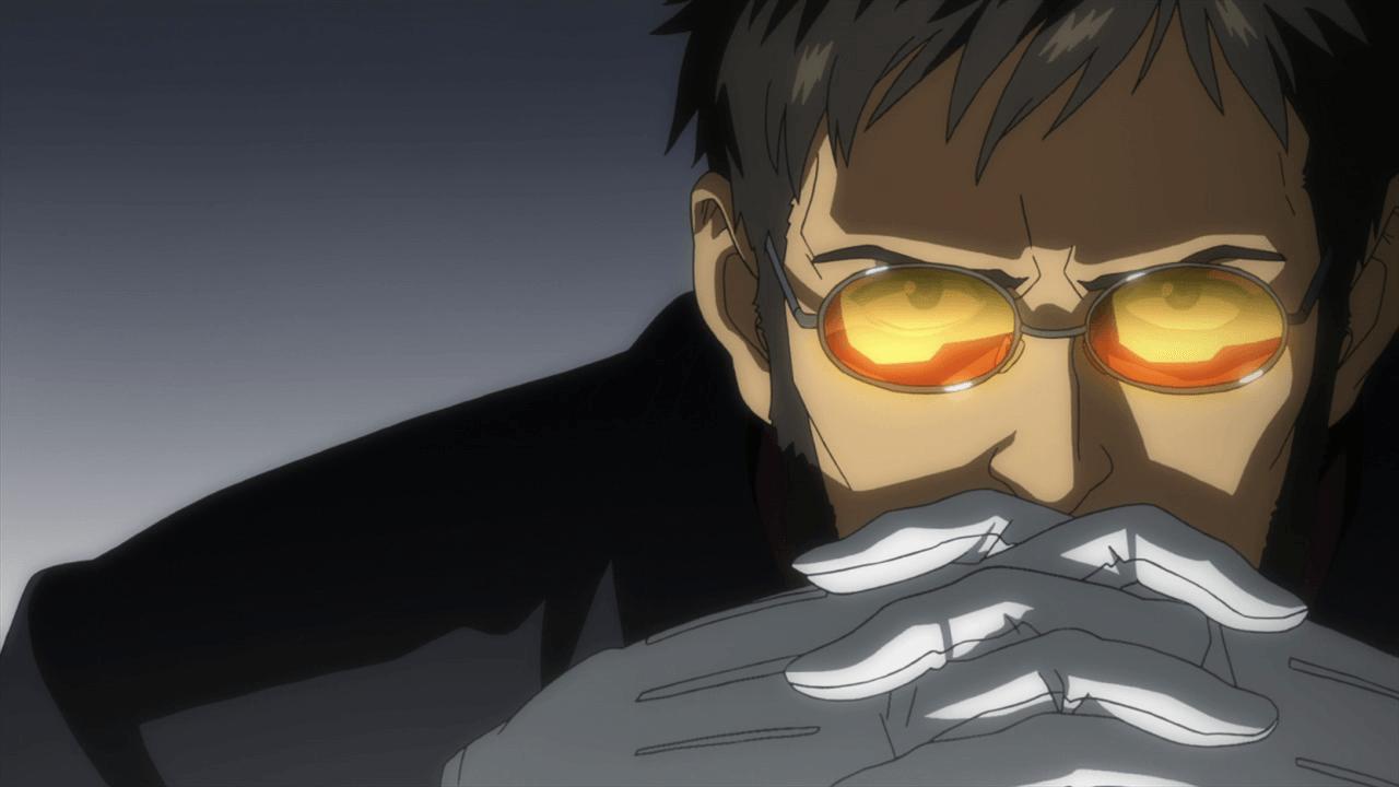 Ikari Gendou anime villain
