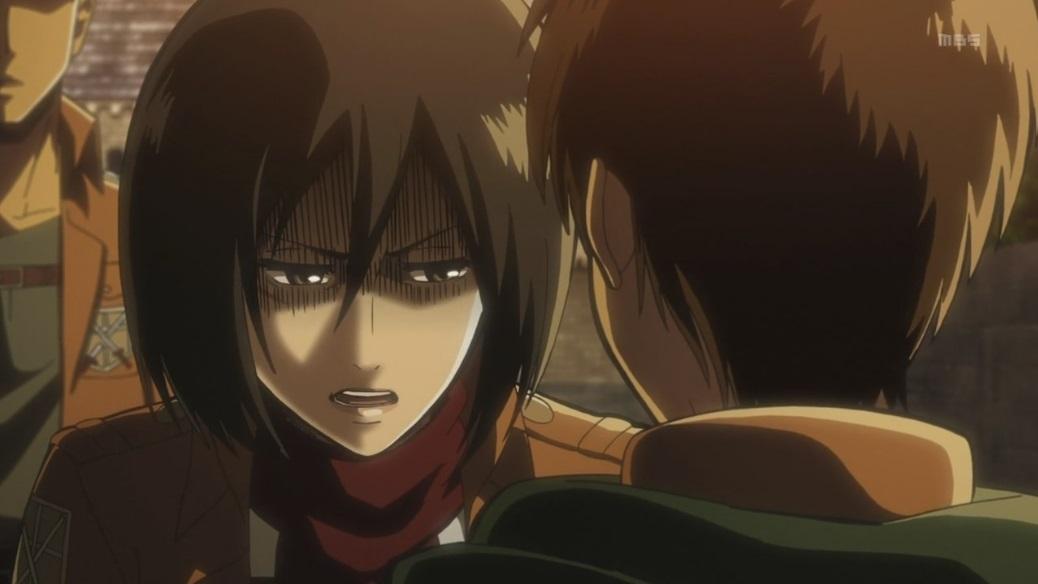Mikasa Ackerman Attack on Titan yandere meaning definition