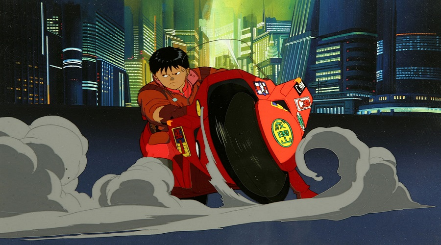 Shotaru Kaneda from Akira, one of the best anime movies ever, is riding his cool Motorcycle