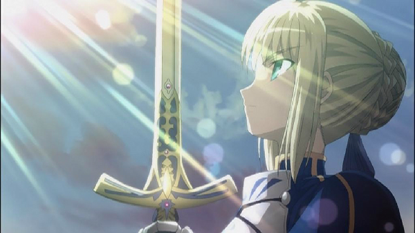 Top 20 Anime Weapons Fate Stay Night Excalibur