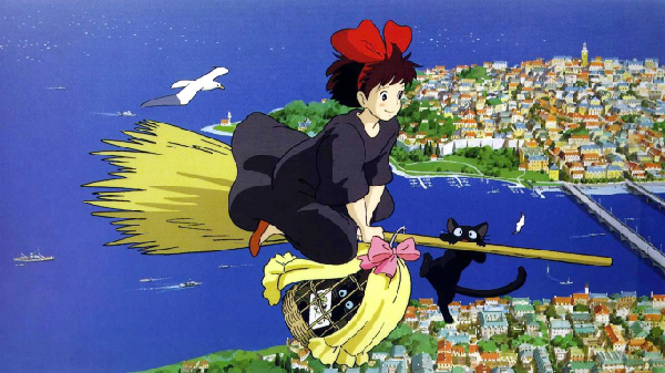 Majo no Takkyuubin beautiful anime art