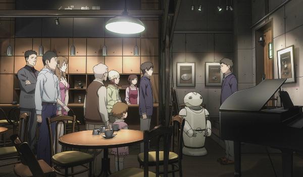 Eve no Jikan, beautiful anime art