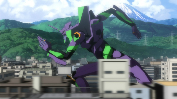 Evangelion 2.0 anime art beautiful