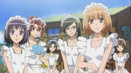 Kaichou wa Maid-sama!: Maid Latte Staff must-watch anime beach episodes