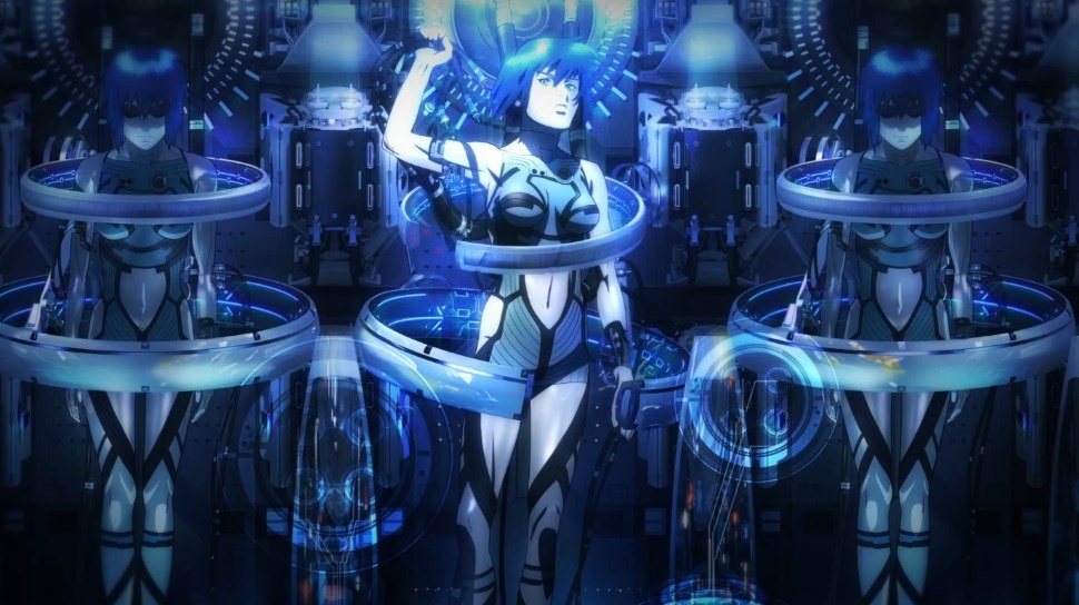 Ghost in the Shell 2015 movie