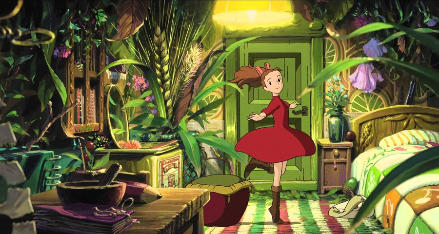 Karigurashi no Arriety - Arriety in her room Best Anime Movies to Kick-Start 2016
