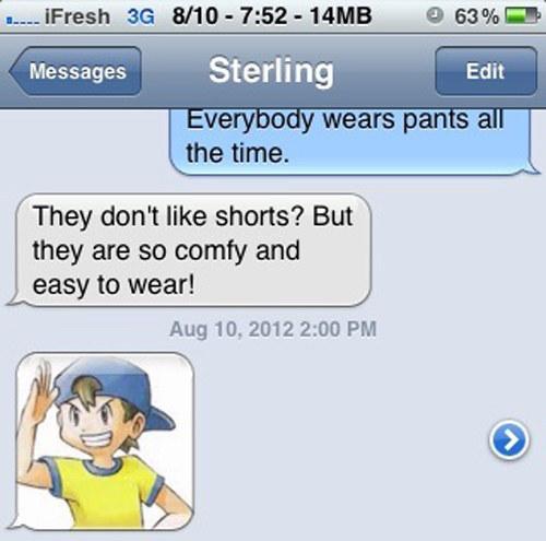 shorts, pokemon jokes, funny