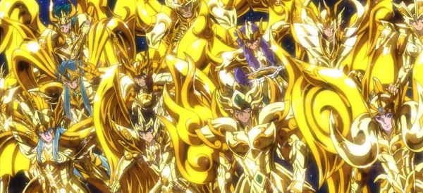 Saint Seiya: Soul of Gold, Gold Saints