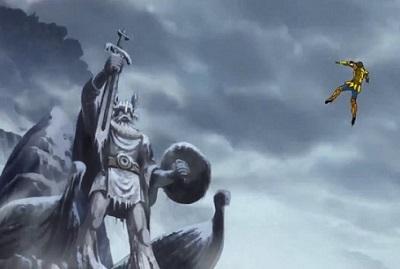 Saint Seiya: Soul of Gold, Odin, Leo Aiolia