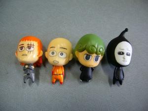One Punch Man Asahi Saitama Mini Figure RInkya