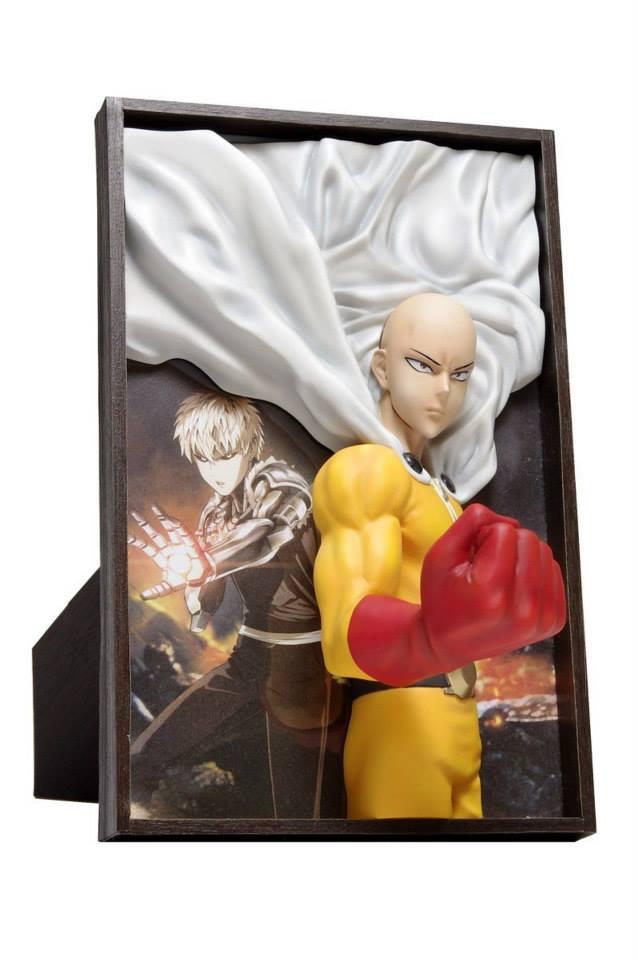 One Punch Man - Genos - Saitama - 2.5 Jigen Picture Figure