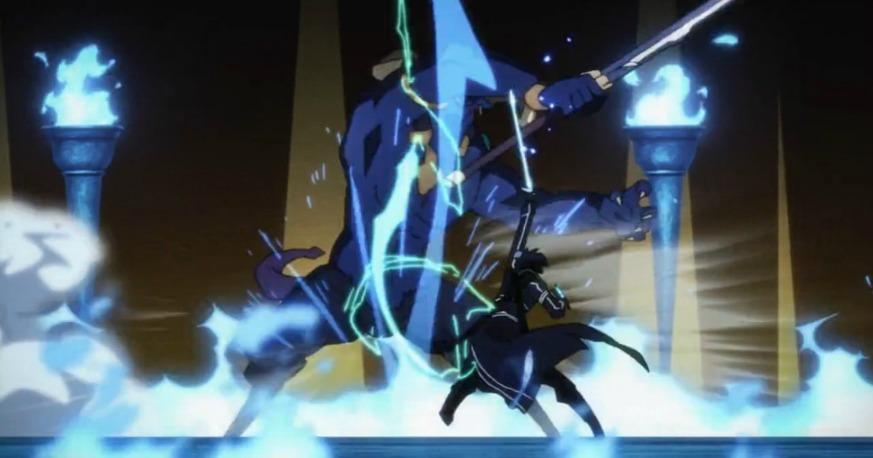 Sword Art Online skills Duel Blades Kirito