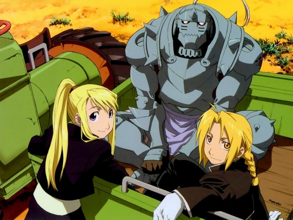 Fullmetal Alchemist is an anime strong backstory for its steampunk world