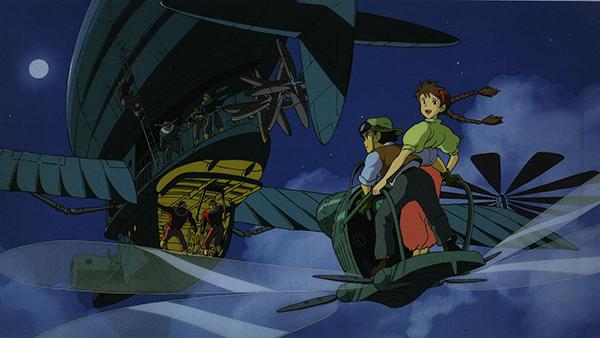 Tenkuu no Shiro Laputa is a steampunk anime classic!