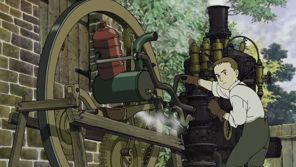 Steamboy is the most steampunk anime out there!