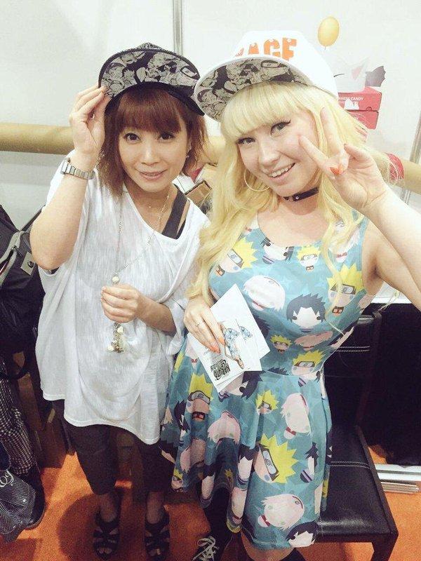 Victoria Holden Sailorbee and Junko Takeuchi