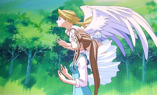 Angel Anime, Holy Bell, Belldandy