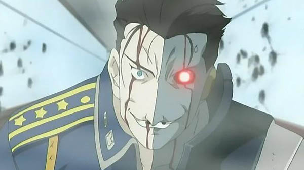 Frank Archer Full Metal Alchemist Anime Cyborg