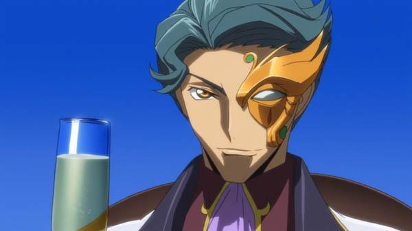 Orange-kun Code Geass R2 Anime Cyborg