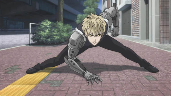 Genos One Punch Man Anime Cyborg