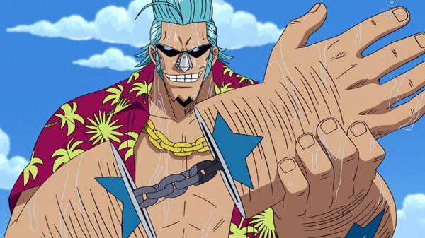 Franky One Piece Anime Cyborg