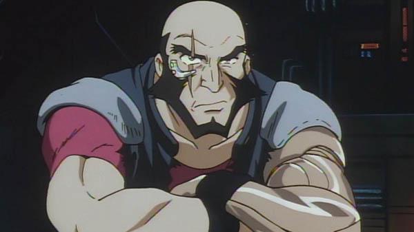 Jet Black Cowboy Bebop Anime Cyborg