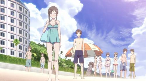 Hanasaku Iroha: Ohana, Minko must-watch anime beach episodes