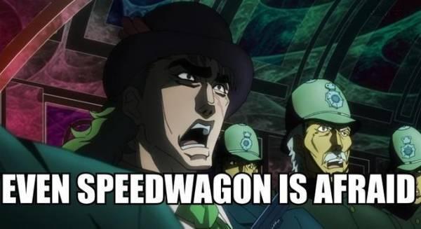 JoJo's Bizarre Adventure, Robert E. O. Speedwagon, jojo memes
