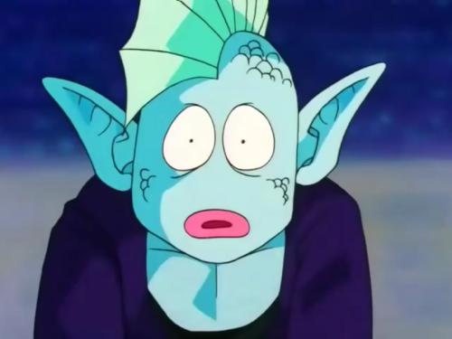 Arqua, Dragon Ball Z, anime water