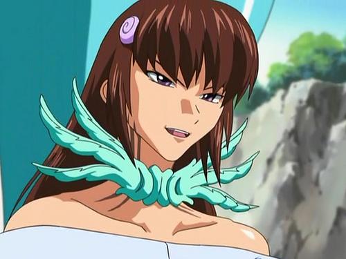 Ayase Terada, Scryed, anime water